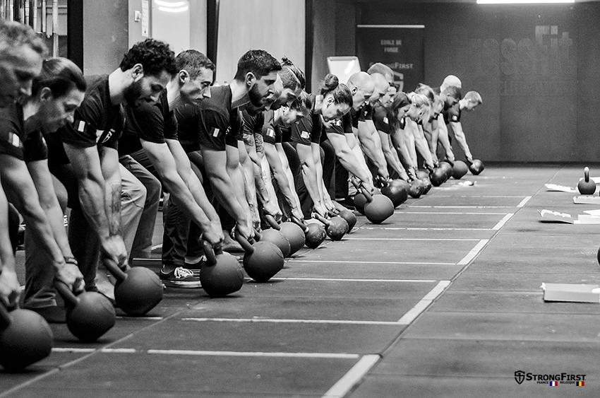 StrongFirst, école de force - l'équipe