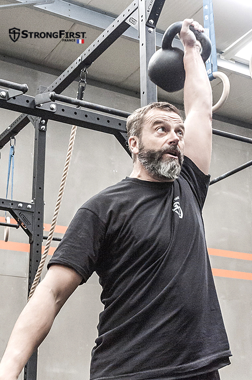 "Stage ""Kettlebell : Rite de Passage"", le Press"