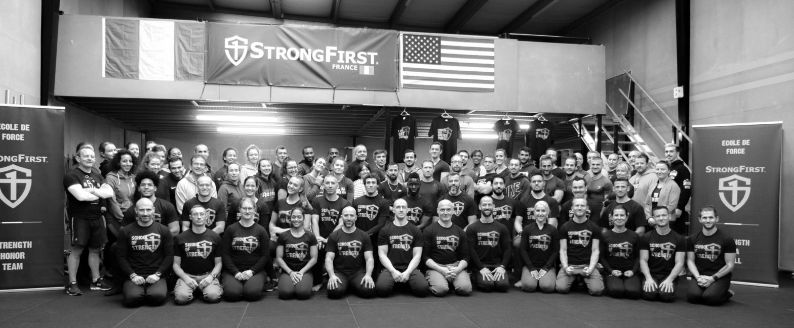 Team StrongFirst France & Belgique
